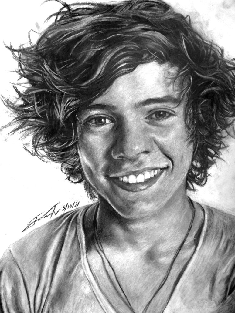 Harry Styles One Direction Drawings