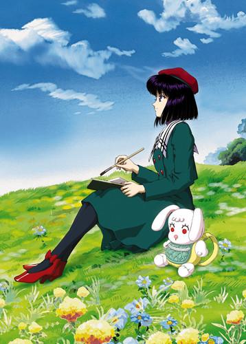 Sailor Saturn Hintergrund entitled Hotaru Tomoe