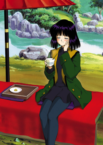 Sailor Saturn Обои probably with a sign, a drawing room, and a living room entitled Hotaru Tomoe