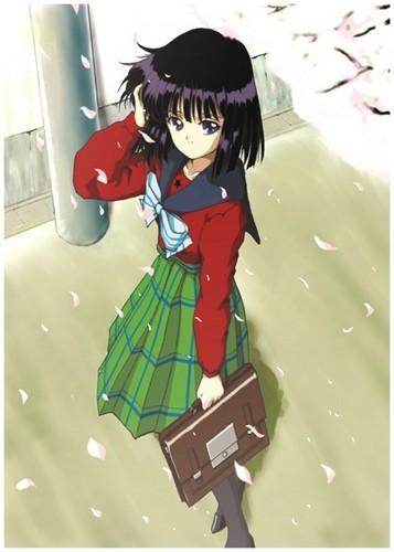 Sailor Saturn Hintergrund entitled Hotaru