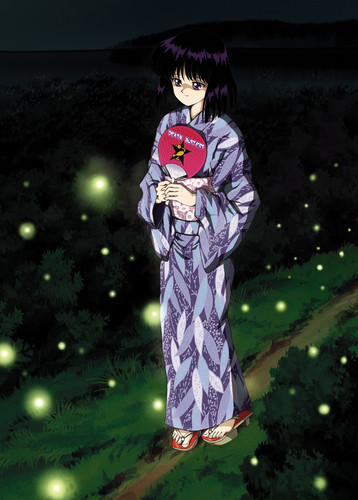 Sailor Saturn Hintergrund called Hotaru