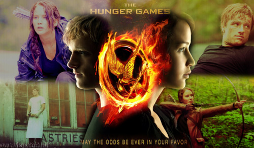 Hunger Games 팬 Art