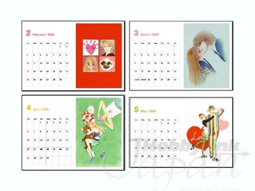 Itazura na 吻乐队(Kiss) Calendar