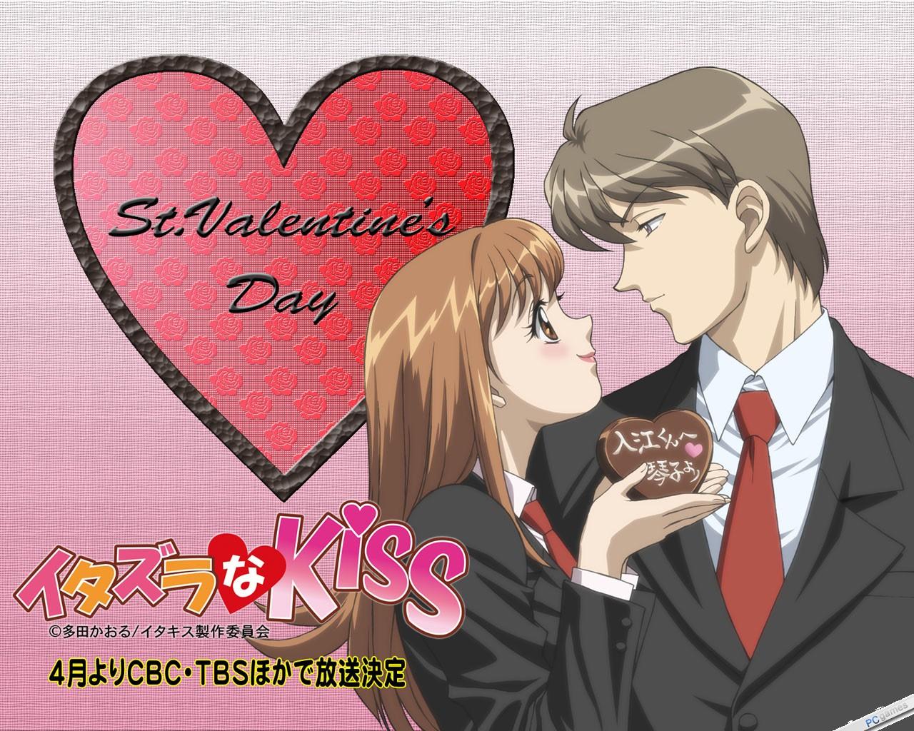 Смотреть онлайн аниме озорной поцелуй 3 фотография