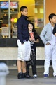 Jaafar Jackson with his cousin Blanket Jackson