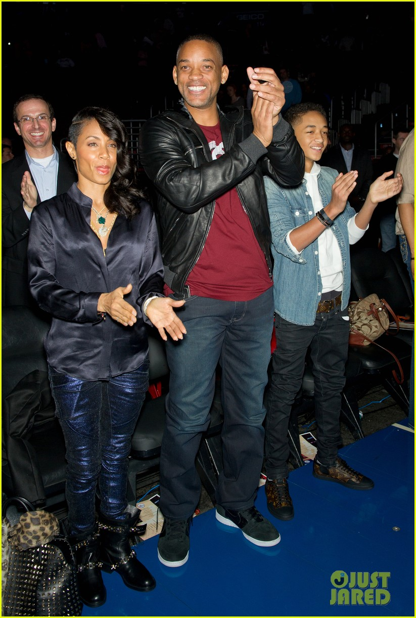 Jaden <3 and parents *clap*