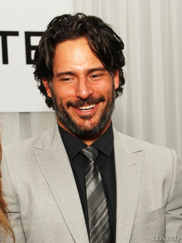 Joe Manganiello wallpaper containing a business suit and a suit entitled Joe Manganiello Parties Ahead Of Super Bowl XLVI