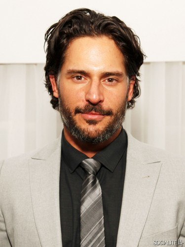 Joe Manganiello 壁紙 with a business suit, a suit, and a double breasted suit titled Joe Manganiello Parties Ahead Of Super Bowl XLVI