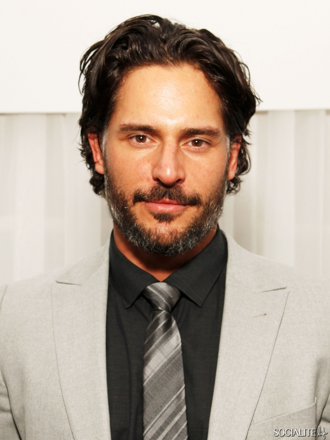 Joe Manganiello Parties Ahead Of Super Bowl XLVI