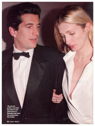 Celebrities Who Died Young Images John F Kennedy Jr And