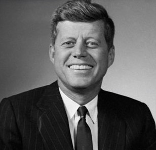 "John Fitzgerald ""Jack"" Kennedy (May 29, 1917 – November 22, 1963)"
