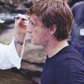 Josh as Peeta<3