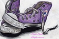 Kandy Kaela's drawings of converse shoes - ray-ray-mindless-behavior photo