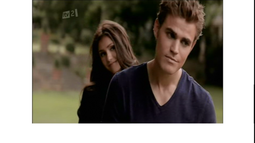 Katherine teasing Stefan in the Return!
