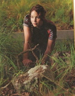 Katniss with snares
