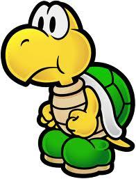Koopa in Paper Mario