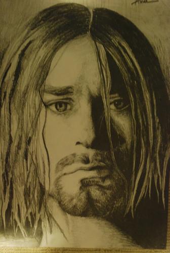Kurt Cobain द्वारा Anna रे Bagdasarian