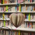 Lauren Oliver paper heart decoration