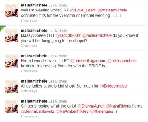 Lea's tweets