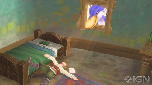 Link's wake up