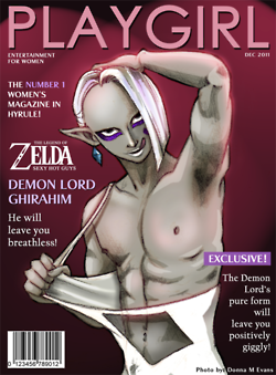 Lord Ghirahim - Magazine Cover