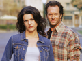 gilmore-girls - Lorelai & Luke wallpaper