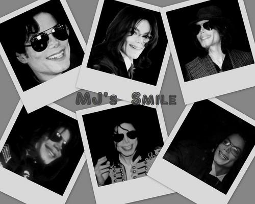 MJ's smile