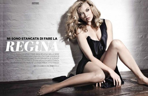 natalie dormer fondo de pantalla possibly containing a leotard, a maillot, and tights entitled Magazine Scans
