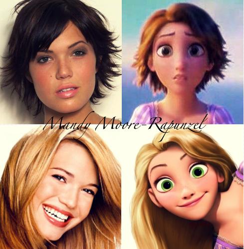 Mandy Moore- Rapunzel
