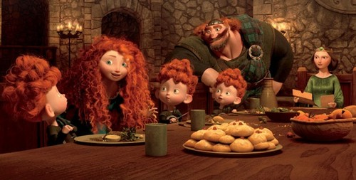 Merida and Her Family