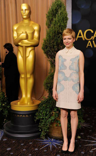 "Michelle Williams ""84th OSCAR Nomination Lunch"" - (05.02.2012)"