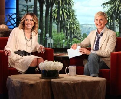 Miley At Ellen