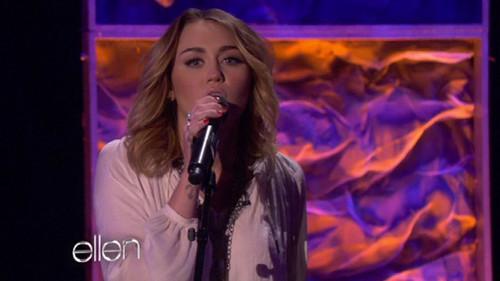 Miley On Ellen