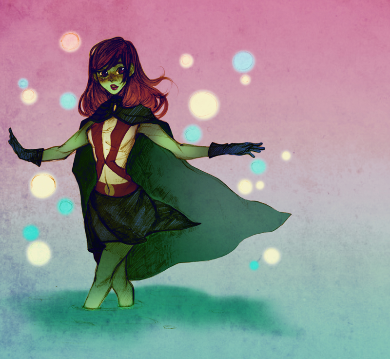 Magnificent Young justice miss martian question
