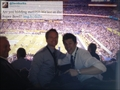 Neil and David @ Super Bowl !