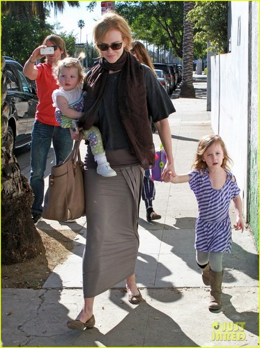 Nicole Kidman, Sunday & Faith: Playdate Time!