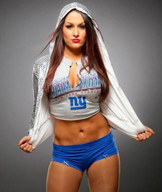 WWE Divas achtergrond entitled Nikki Bella