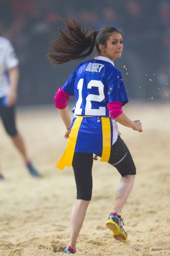 Nina Dobrev - Celebrity Beach Bowl - stefan-and-elena Photo