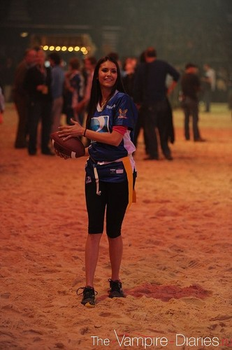 Nina at DIRECTV's Sixth Annual Celebrity Beach Bowl