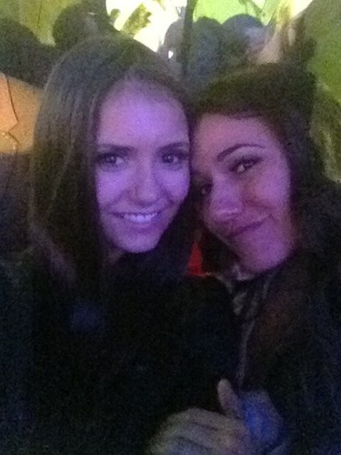 Nina with Emmanuelle @ Rollingstones Party
