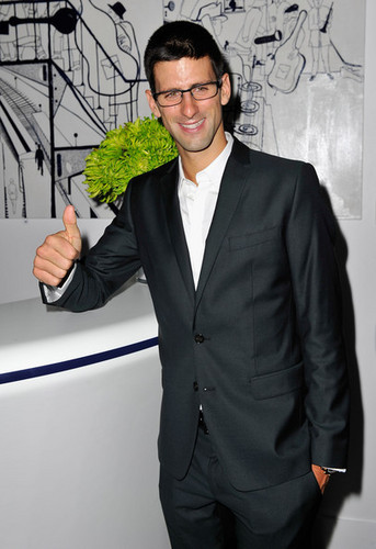 "Novak Djokovic - ""Laureus"" Welcome Party - (05.02.2012)"