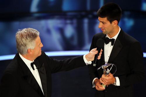 "Novak Djokovic - ""Laureus World Sports Awards"" - (award show/06.02.2012)"