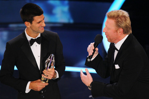 "Novak Djokovic - ""Laureus World Sports Awards"" - (award show/06.02.2012)  - novak-djokovic Photo"