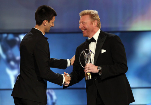 "Novak Djokovic - ""Laureus World Sports Awards"" - (award show/06.02.2012)"