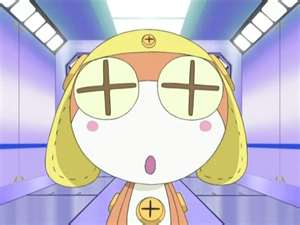 Sgt. Frog (Keroro Gunso) wallpaper containing a stained glass window and anime titled Nuii
