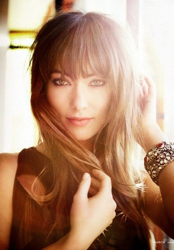 Olivia Wilde Photoshoot for the March 2012 Issue of Town & Country Magazine
