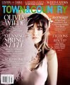Olivia Wilde on the Cover of the March 2012 Issue of Town & Country Magazine