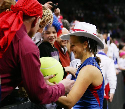 Petra Kvitova fed cup 2012