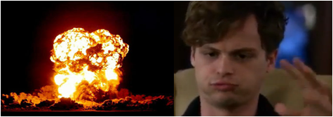 Dr. Spencer Reid wallpaper with a fire and a fire called Reid