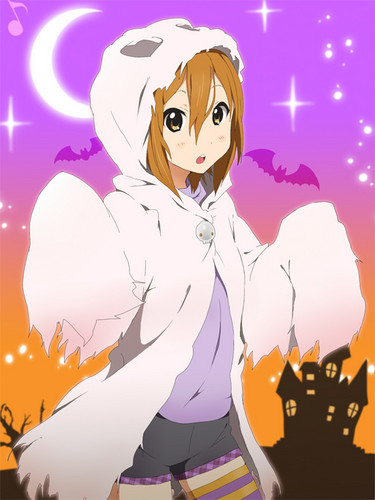Tainaka Ritsu wallpaper with anime entitled Ritsu Halloween Outfit